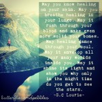 Healing Words and Vision